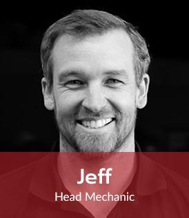 Jeff - Head Mechanic